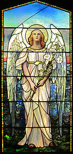 angel mosaic artwork