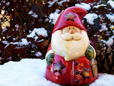 Santa Claus ceramic figurine