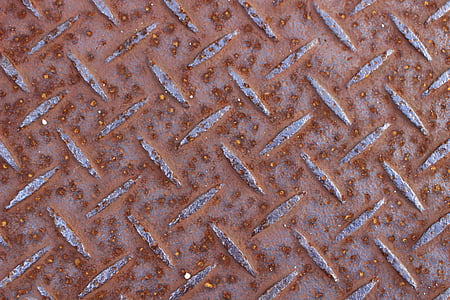 pattern, ground, hot plate, rust, backgrounds, steel