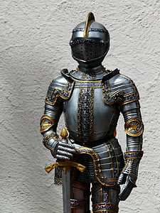 photo of knight figurine