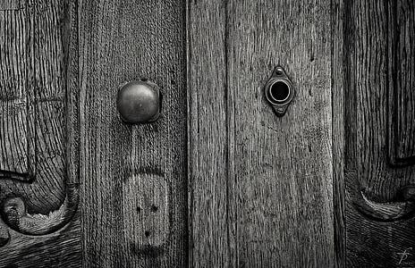 door, keyhole, design, lock, key, doorway