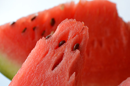close-up photo of watermelon fruit