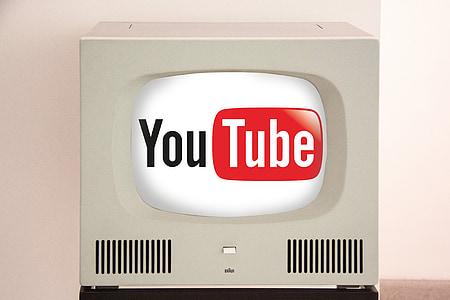 white cathode ray tube television