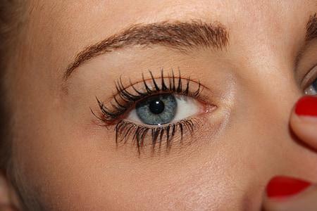 women's black false eyelashes