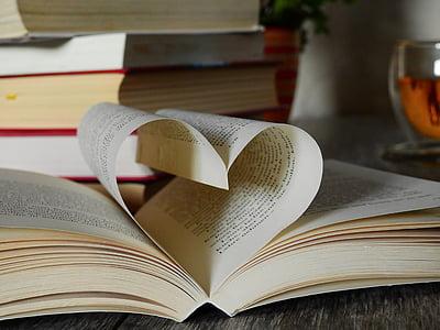 heart book fold