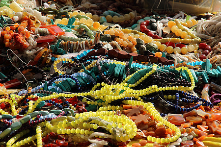 assorted misbaha prayer beads