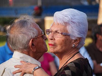 man and woman wearing eyeglasses