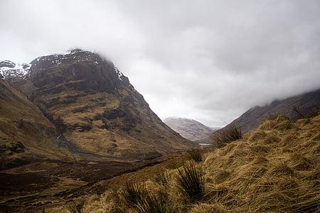 photo of mountain trail