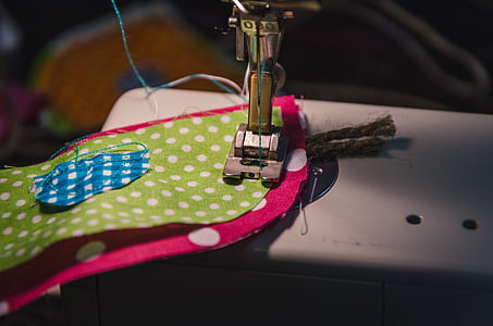 silver sewing machine
