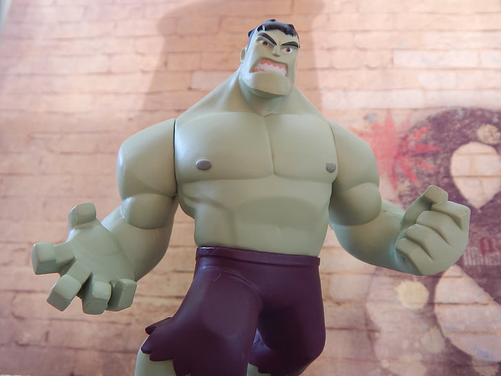 cartoon character action figure