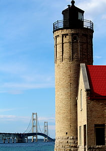 brown concrete lighthouse