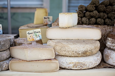 shallow focus photography of assorted cheese