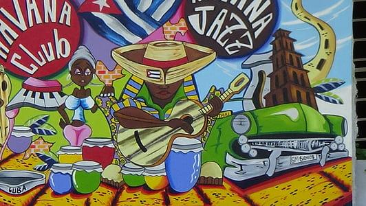 Havana Club painting