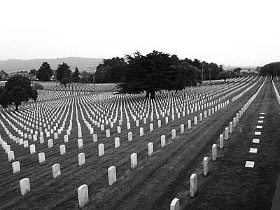 white cemetery tombstone