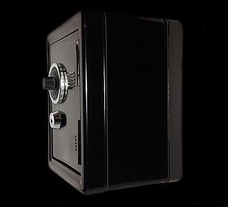 black safety box