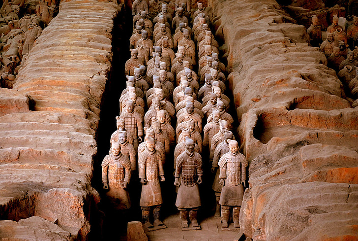 Royalty-Free photo: Terracotta Army China | PickPik