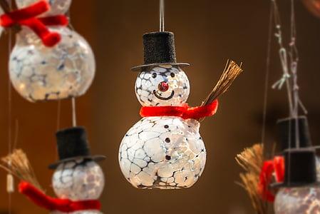 snowman hanging decors