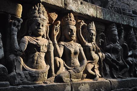 Buddha emboss wall decor