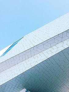 facade, modern, building, architecture, contemporary, exterior