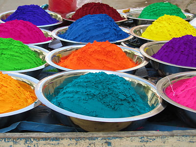 closeup photo of assorted-color holli powder