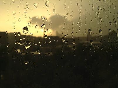 light, thunderstorm, tears, rain