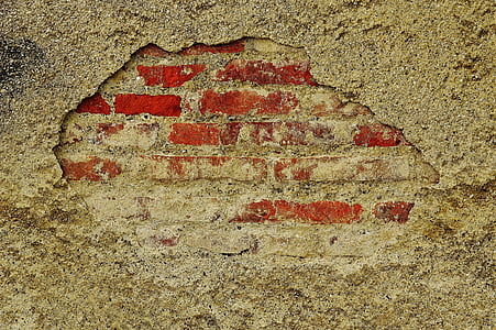 gray and red surface