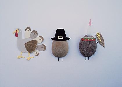 turkey and stones wall art