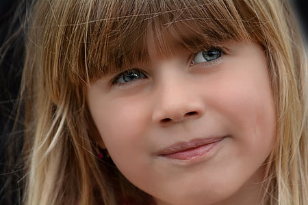 photograph of girl