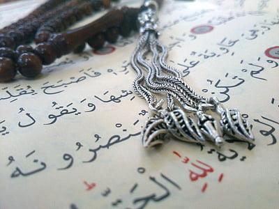 brown misbaha prayer beads