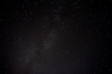 sky with stars illustration