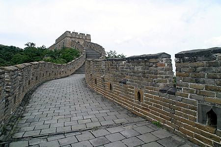 photography of Great Wall of China
