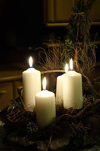four pillar candles