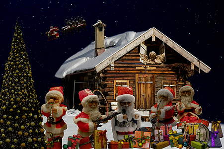 Santa Claus ornaments