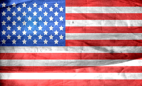 US flag photography