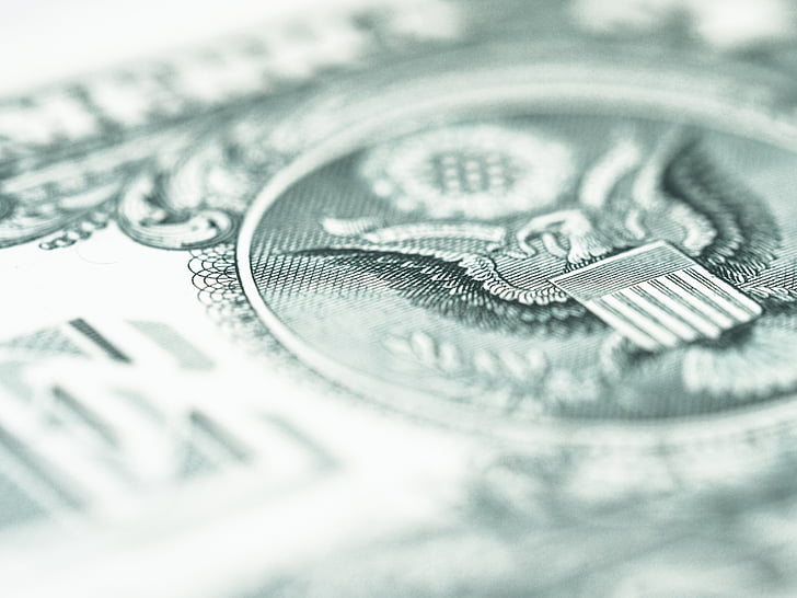 close-up photography of U.S. dollar banknote