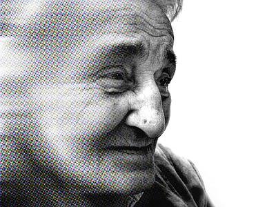 grayscale closeup photo of person wearing shirt