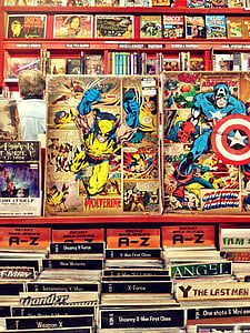 Marvel comic book collections