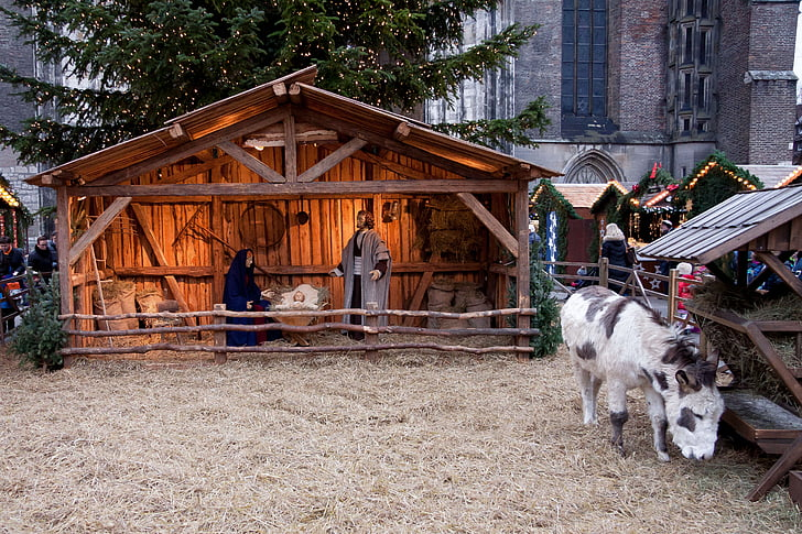 Nativity Scene statue