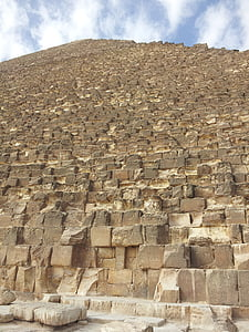 low angle photo of pyramid