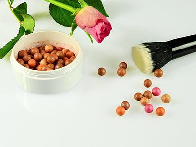 cosmetics, make up, schmink brush, makeup, beauty, color