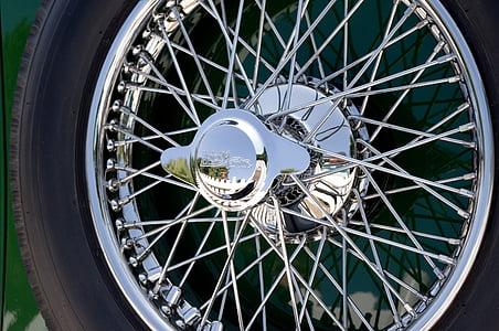 gray motorcycle rim