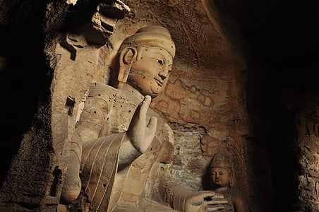 high relief of Gautama Buddha