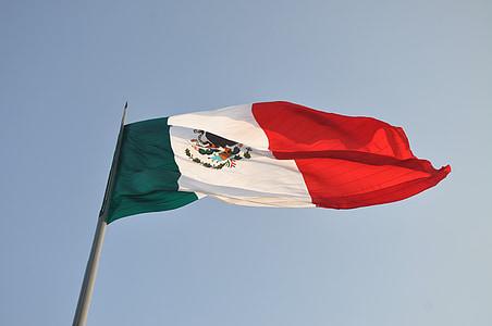 Mexico flagpole