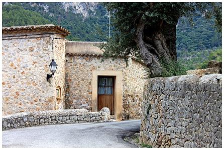 house near empty road