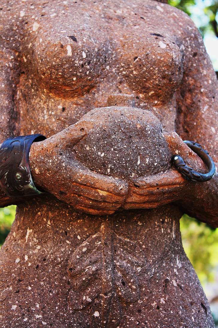 Close Up Photo Of Woman Statue