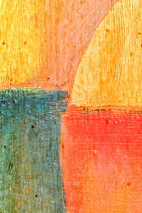 closeup photo of abstract painting