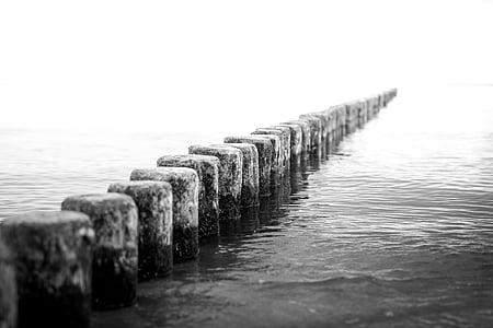photo of black dock