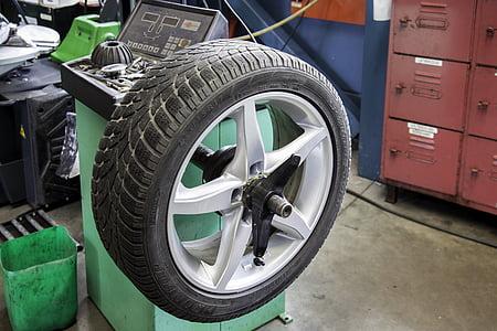 tire on wheel alignment