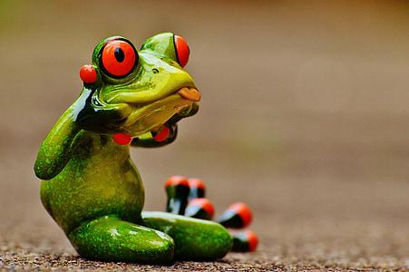 frog toy figure