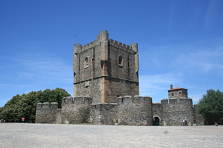 black and brown castle at daytime
